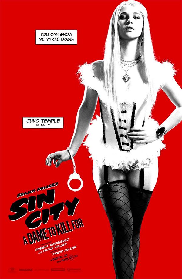 Juno Temple para volverse tarumba en Sin City: A Dame to Kill For