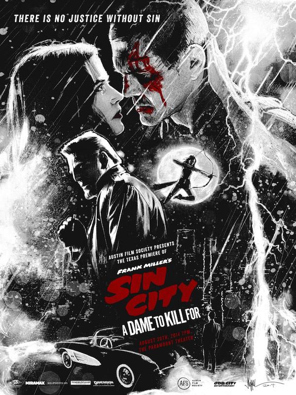 Impresionante cartel para Sin City: A Dame to Kill For