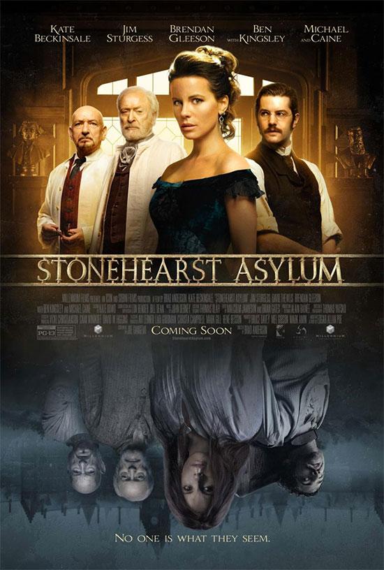 El mismo cartel de siempre con el cambio de título a Stonehearst Asylum