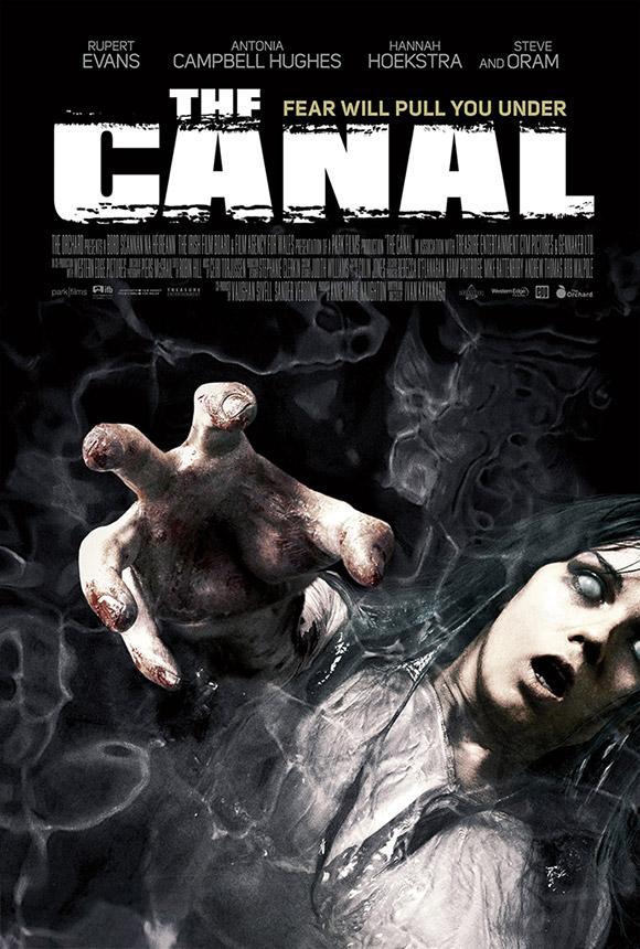 Cartel de The Canal... parece la portada de un juego nipón