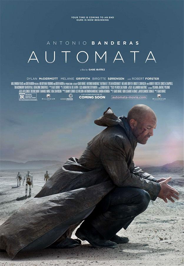 Medita Antonio Banderas en el cartel de Automata