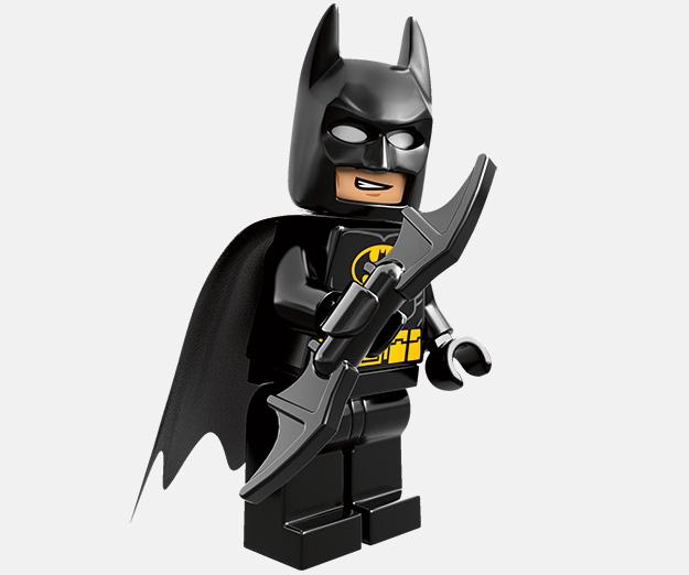Este no es el Batman del set pero si el de la LEGO Película