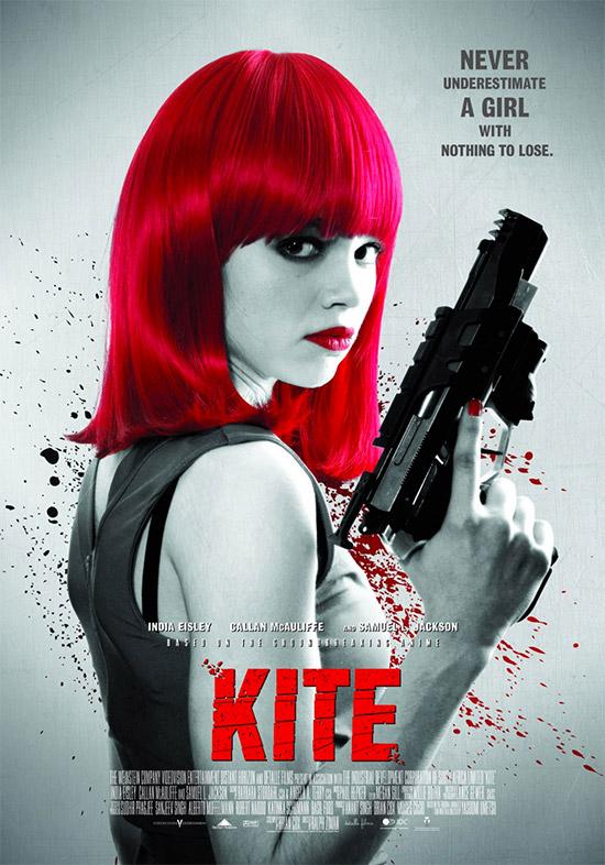 Un nuevo cartel de Kite, no es Jennifer Lawrence pero el póster es curioso