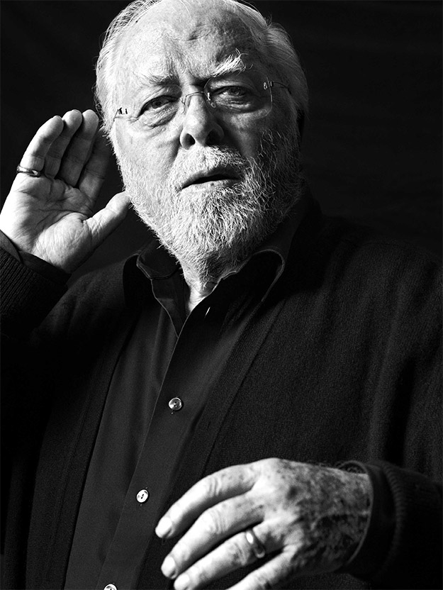 Se despide Richard Attenborough