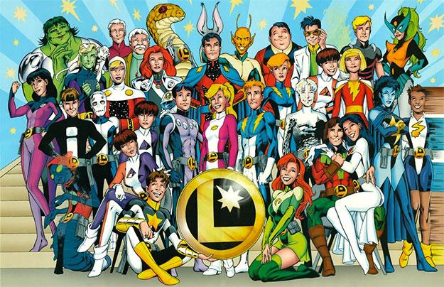 ¿La Legión de Superhéroes al cine? Todo es posible hasta que explote