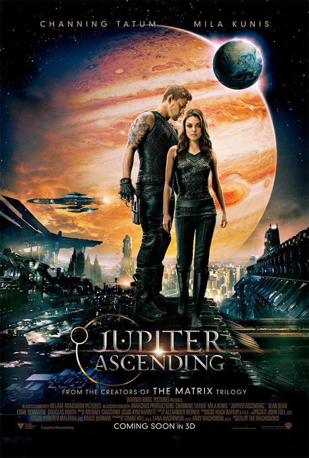 El nuevo cartel de El destino de Júpiter... todavía falta un mundo para su estreno