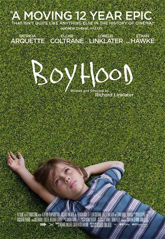 Cartel de Boyhood...