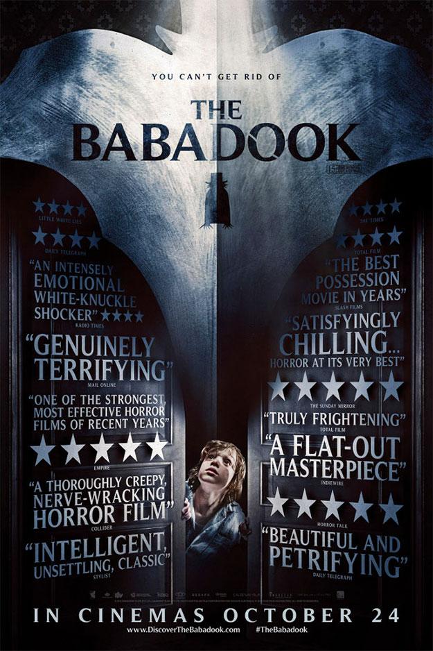 Cartel modo me lamo el culo de The Babadook... en el fondo se lo merecerá fijo