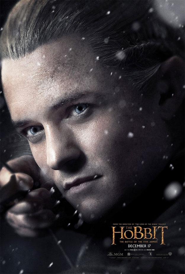 Legolas también tiene su cartel de El Hobbit: La Batalla de los Cinco Ejércitos