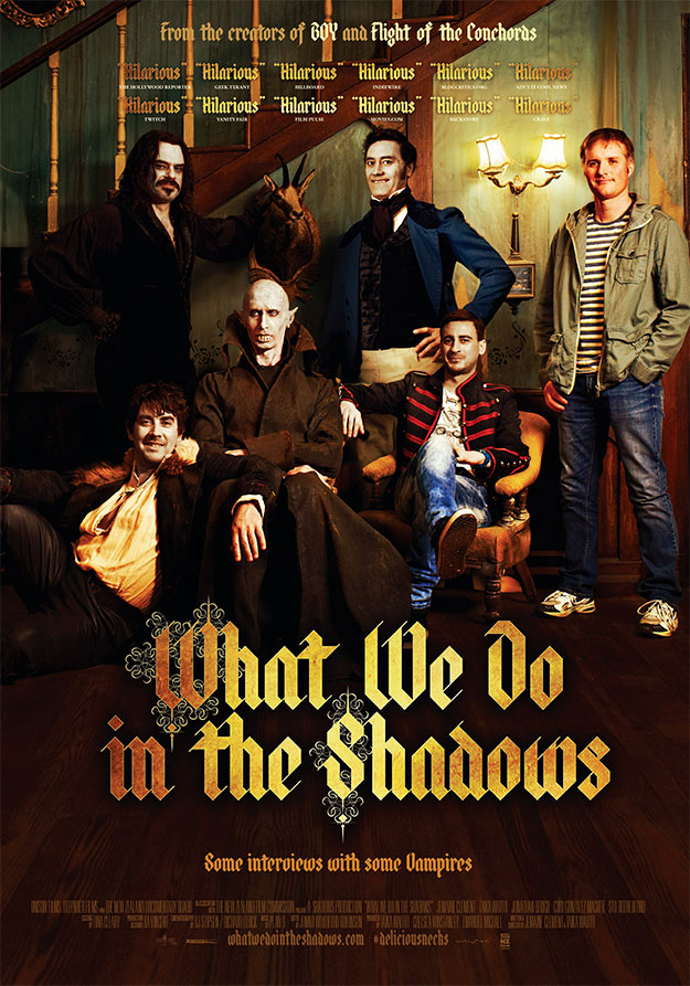 Un cartel, no el mejor, de What We Do in the Shadows