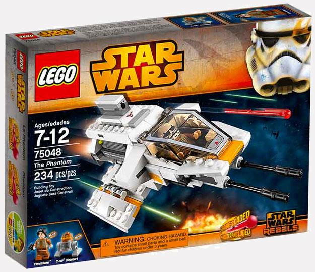 Así luce el set Star Wars Rebels: The Phantom de LEGO