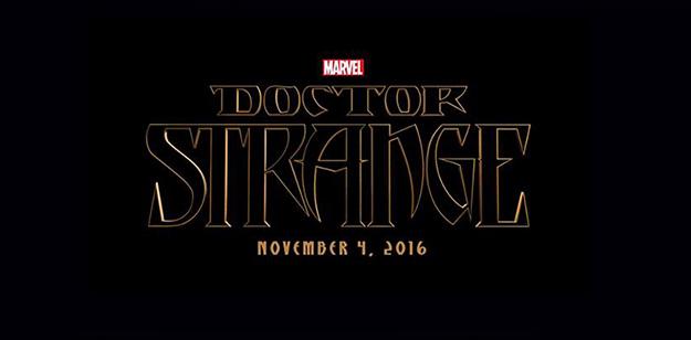 Doctor Strange se estrenará el 4 de noviembre del 2016