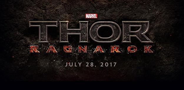 Thor: Ragnarok se estrenará el 28 de julio del 2017