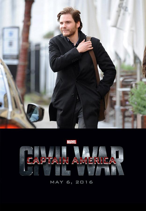 Daniel Brühl se adentra en Captain America: Civil War