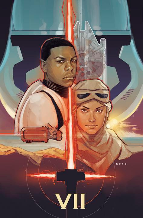 Star Wars: The Force Awakens por Phil Noto