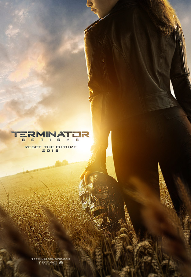 Primer cartel no animado de Terminator: Genisys