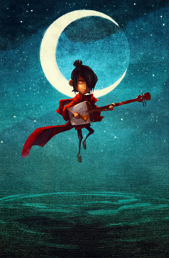 Concept art de Kubo and the Two Strings