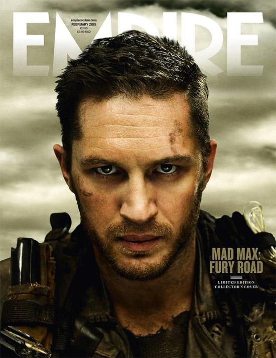 Tom Hardy como Mad Max