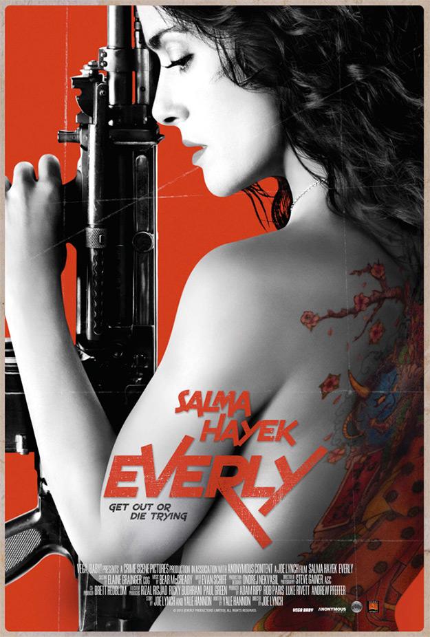 Everly, la película en la que Salma Hayek mata a todo el mundo