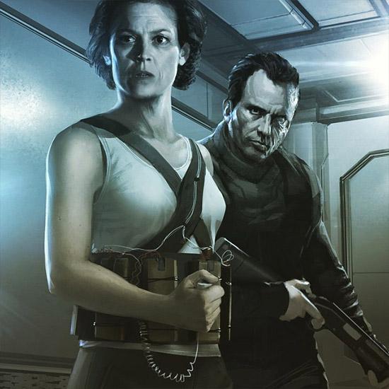 Ripley y Hicks... sería un auténtico WTF