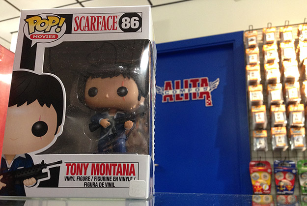 Tony Montana ya está de paseo por Alita Compostela