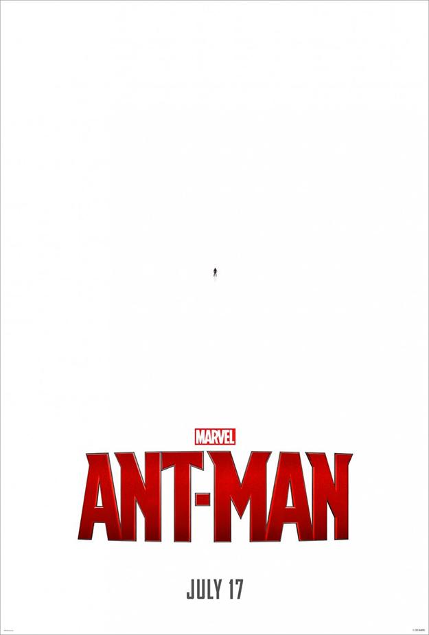 El primer cartel de Ant-Man en toda su gloria!