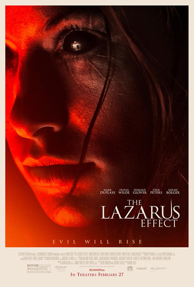 Cartel de The Lazarus Effect