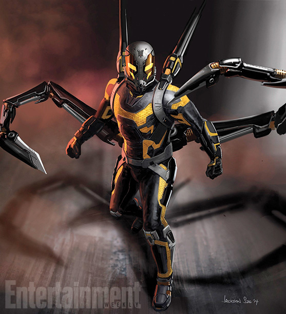 Concept art de Yellowjacket... cortante
