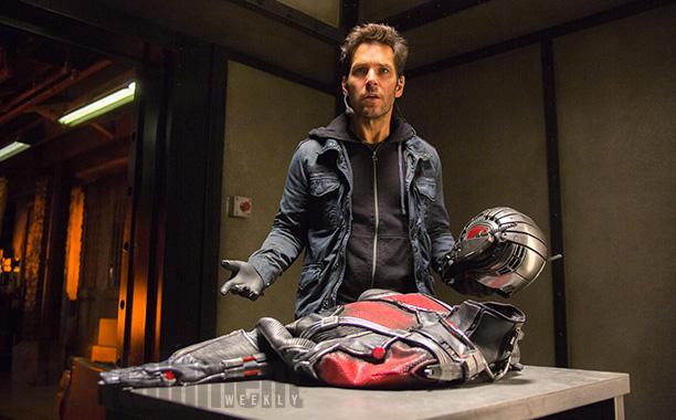 ¿Estp es el traje de Ant-Man?