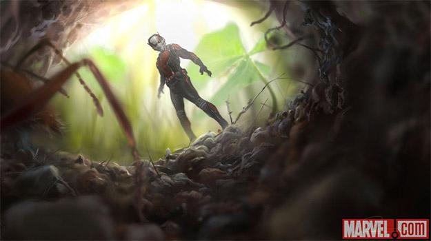 Nuevo detalle de concept art de Ant-Man obra de Rodney Fuentebella vía Marvel.com