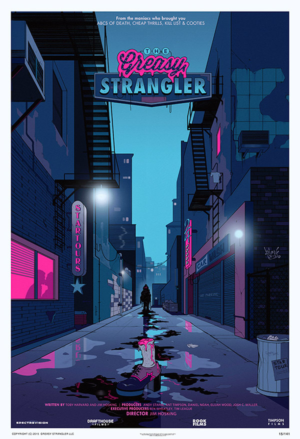 Cartel de The Greasy Strangler