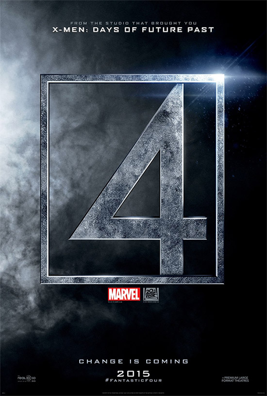 Cartel de Fantastic Four