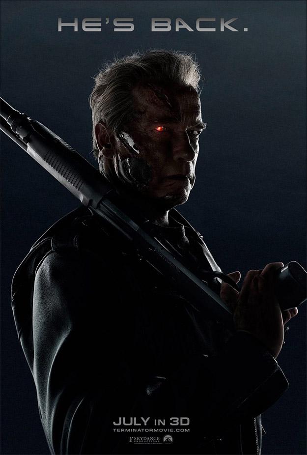 Terminator: Genisys... peinando canas!