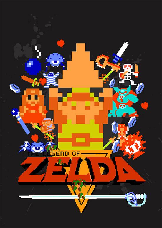 The Legend of Zelda... aquellos 8 bits