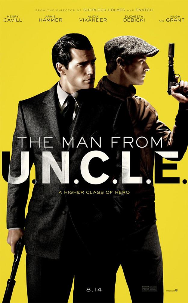 Primer cartel de The Man From U.N.C.L.E.