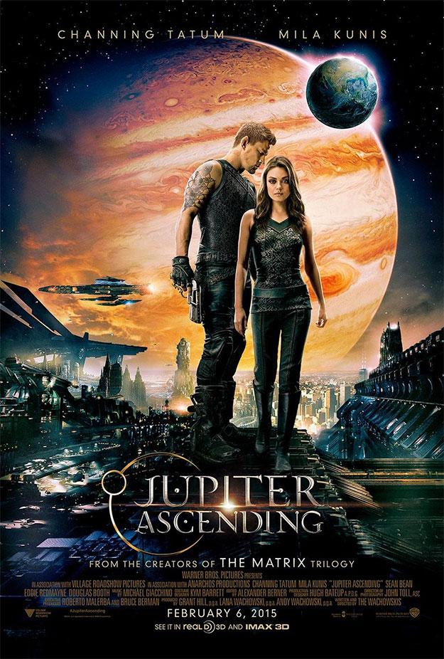 Uno de los carteles de El destino de Júpiter