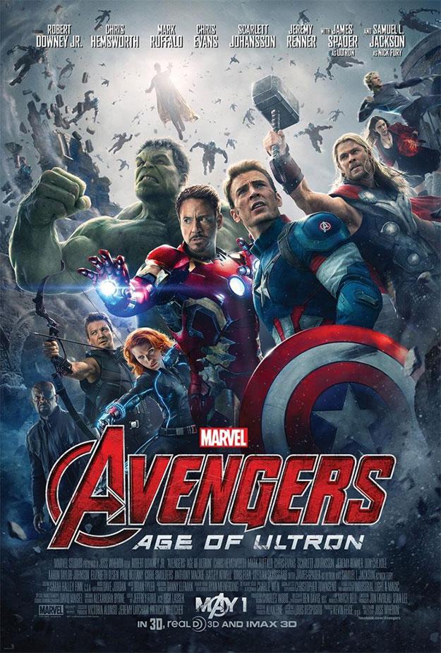 El cartel definitivo de Vengadores: La Era de Ultrón