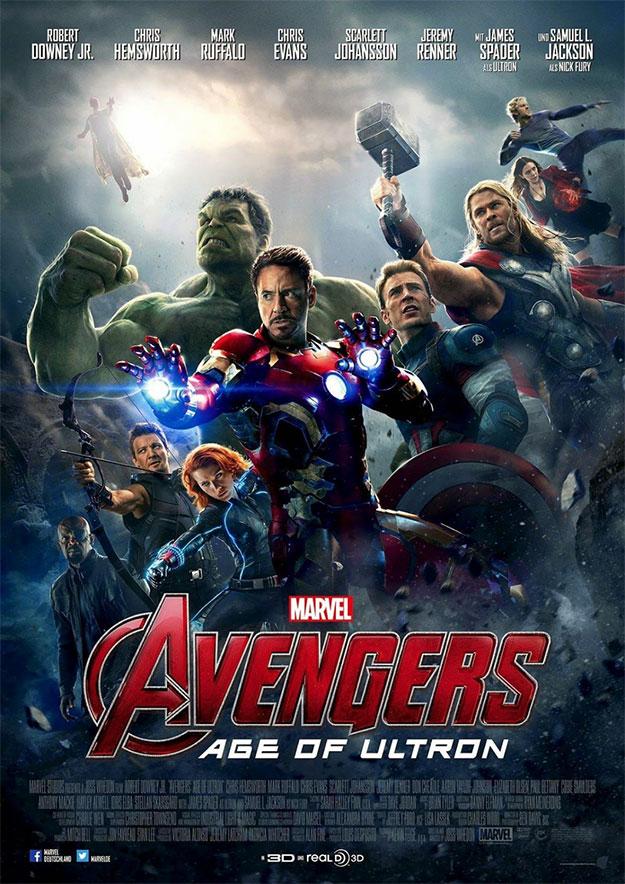 Variante del cartel de ayer de Vengadores: La Era de Ultrón