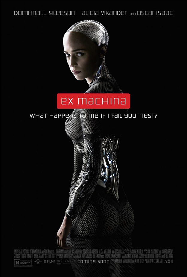 Último cartel de Ex Machina