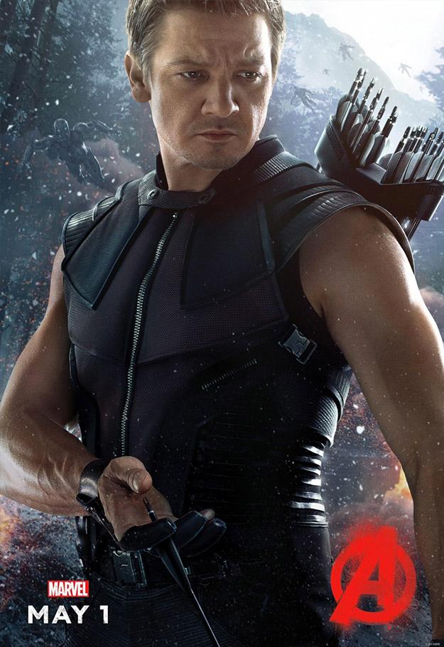 Un nuevo cartel de Vengadores: La Era de Ultrón... Ojo de Halcón