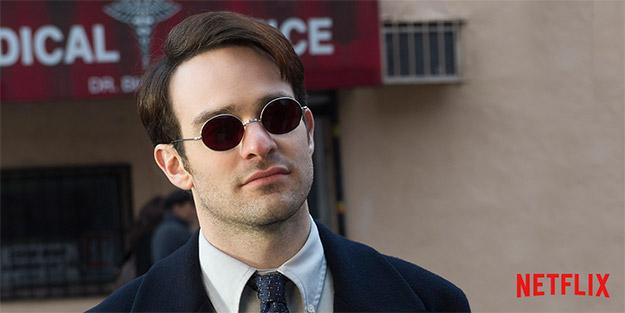 Matt Murdock antes de ponerse en faena como Daredevil