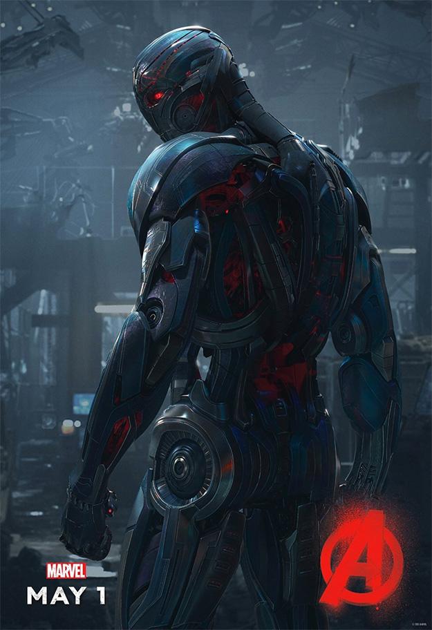 Ultrón en el nuevo cartel de Vengadores: La Era de Ultrón