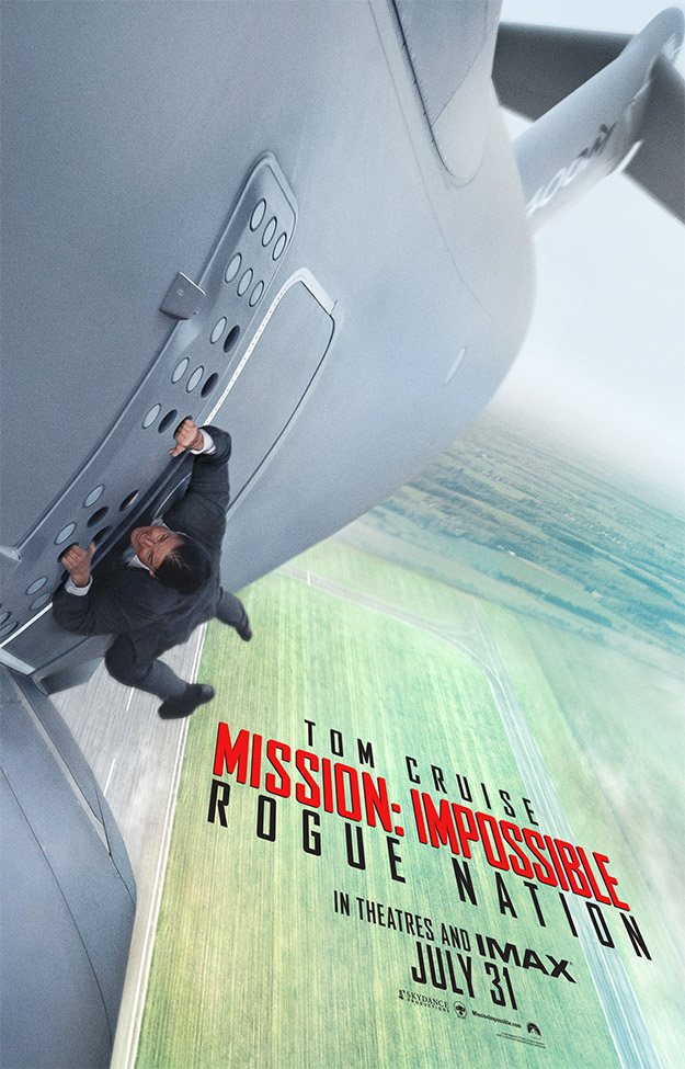 Primer espectacular cartel de Mission: Impossible Rogue Nation