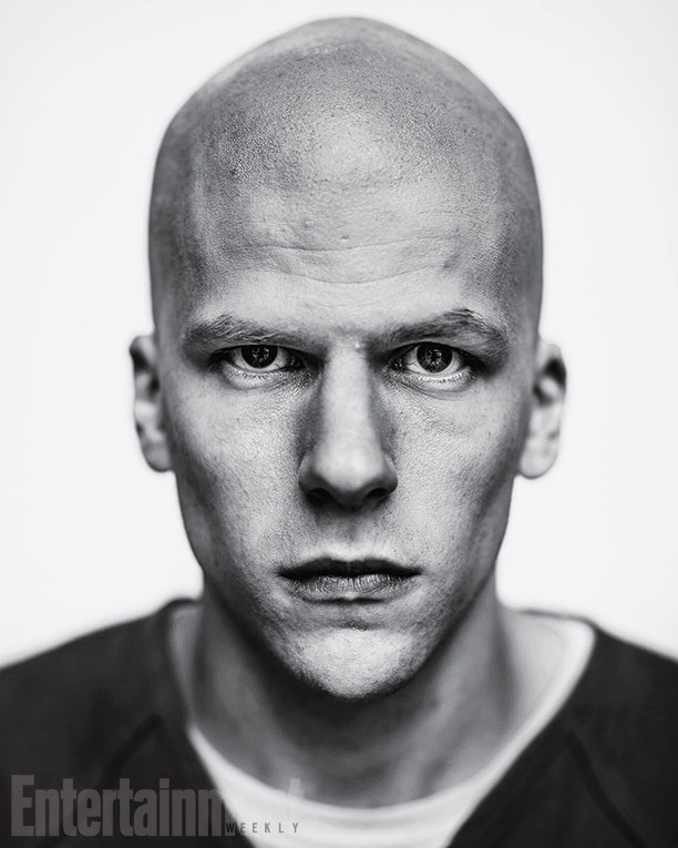 Jesse Eisenberg como Lex Luthor en Batman v Superman: Dawn of Justice