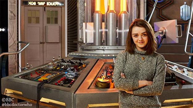 Una interesante visitante para Doctor Who!