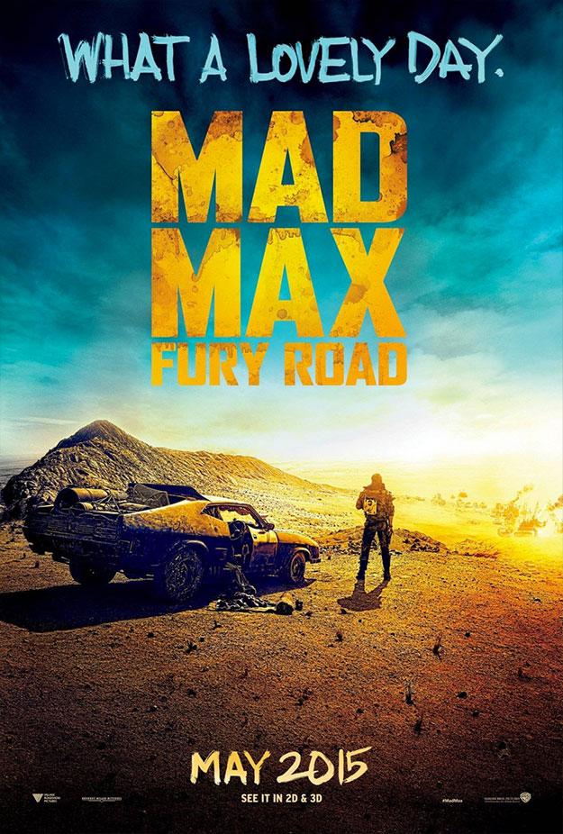 Otro nuevo cartelito de Mad Max: Furia en la Carretera