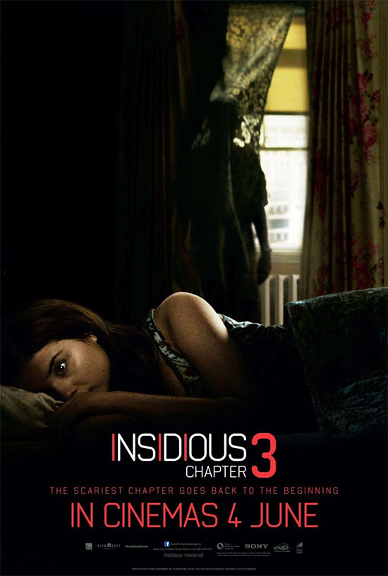 Un cartelillo más de Insidious: Chapter 3