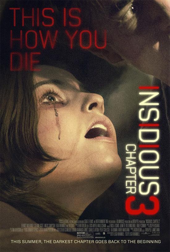 Un nuevo cartel de Insidious: Chapter 3