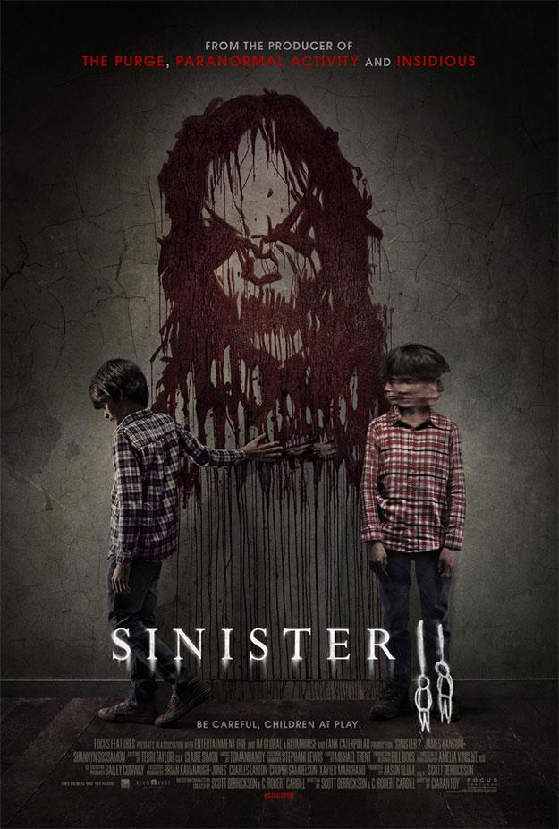 Primer cartel de Sinister II... esos gemelos del mal rollo