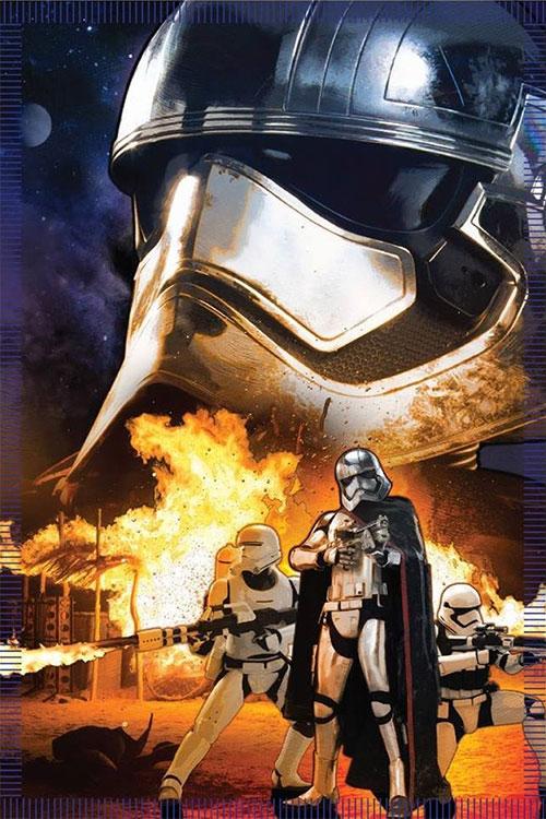 La Capitana Phasma y alguna sorpresa Stormtrooper